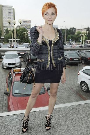 Anna Wyszkoni pokazuje nogi (FOTO)
