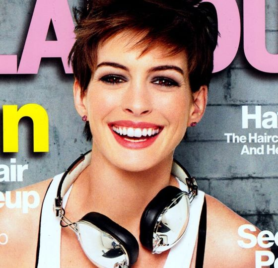 Anne Hathaway w amerykańskim Glamour