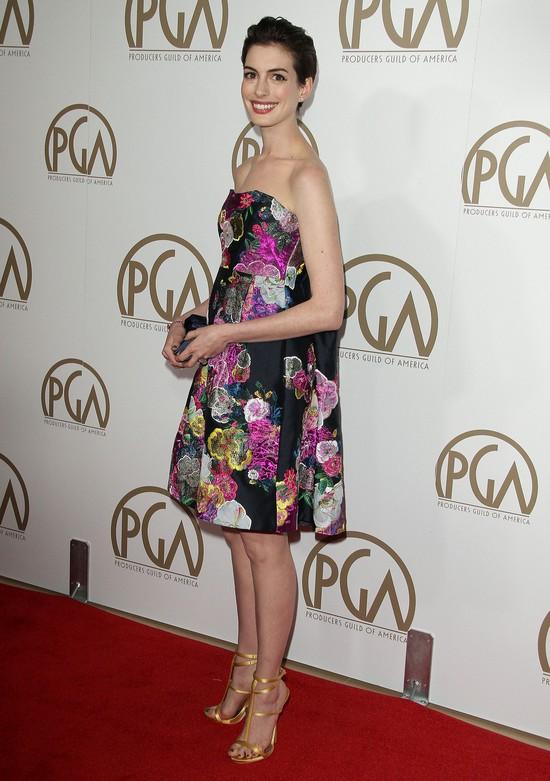 Anne Hathaway w Erdem (FOTO)