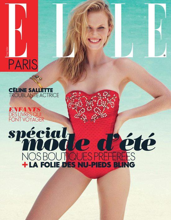Anne V na okładce Elle France