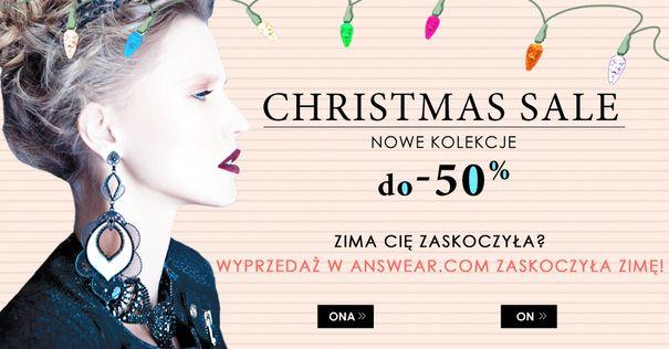 Zimowa wyprzedaż na Answear.com