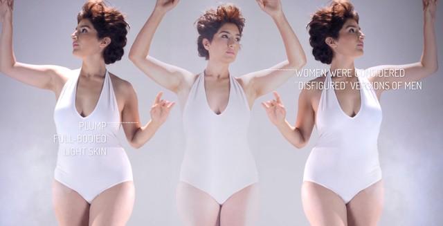 Jak zmieniał się ideał kobiecego piękna? (VIDEO)