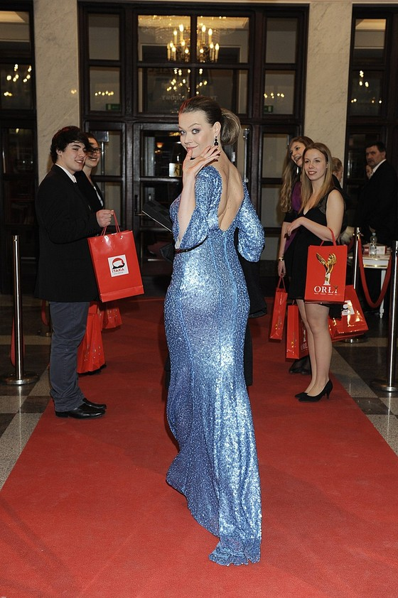 Tamara Arciuch w cekinowej sukience