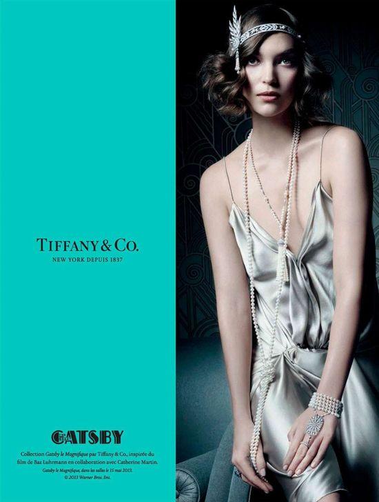 Arizona Muse dla Tiffany's Great Gatsby