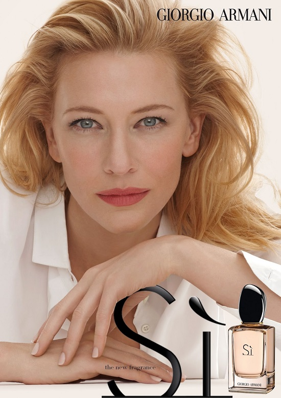 Cate Blanchett dla Giorgio Armani Si (VIDEO)
