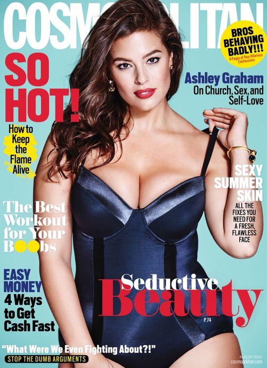 Modelka plus size Ashley Graham w szczerym wywiadzie dla Cosmopolitan