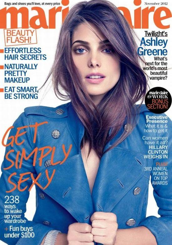 Ashley Greene w marynarce Chanel
