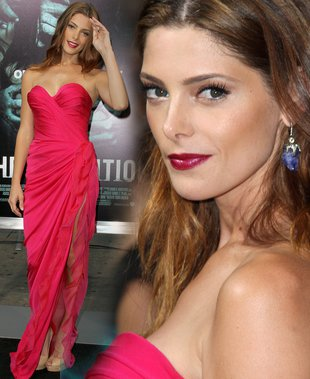 Malinowa kreacja Ashley Greene (FOTO)