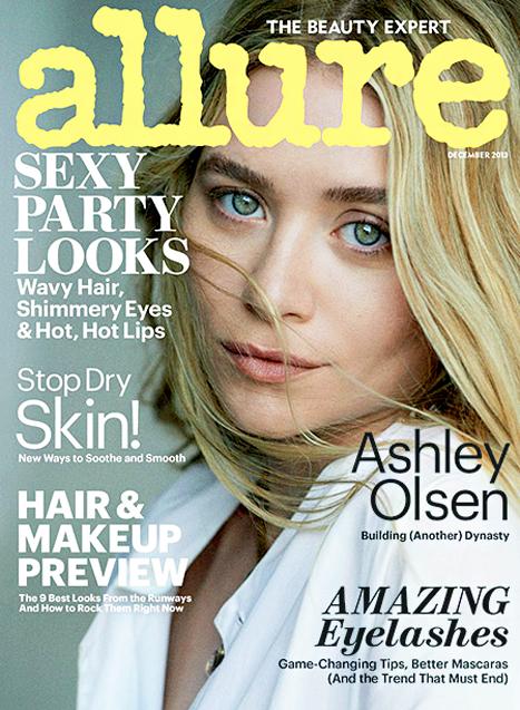 Ashley i Mary-Kate Olsen na okładkach magazynu Allure