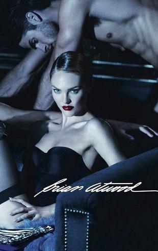Candice Swanepoel w kampanii Briana Atwooda