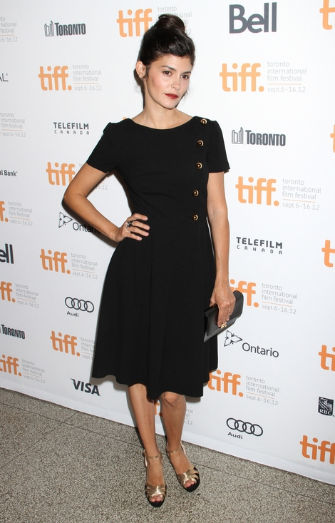 Audrey Tautou w małej czarnej (FOTO)