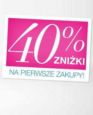 Kosmetyki Avon 40% taniej