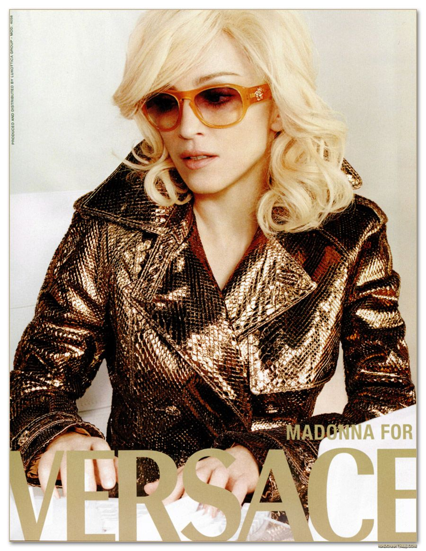 Madonna dla Versace