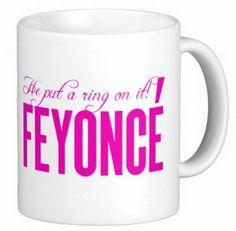 Beyonce będzie pozywać za… kubki z napisem Feyonce
