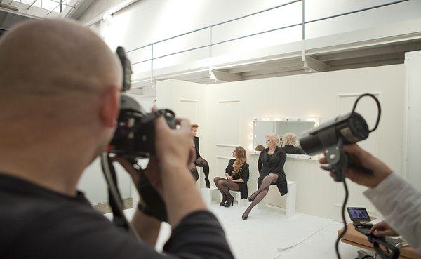Backstage sesji zdjęciowej z okazji 20-lecia marki Gatta