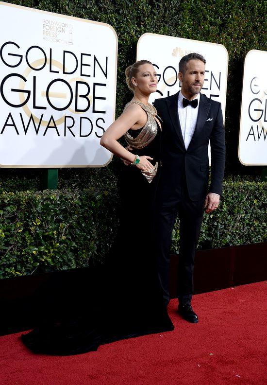 Blake Lively i jej mąż to najlepiej ubrana para rozdania Złotych Globów 2017?