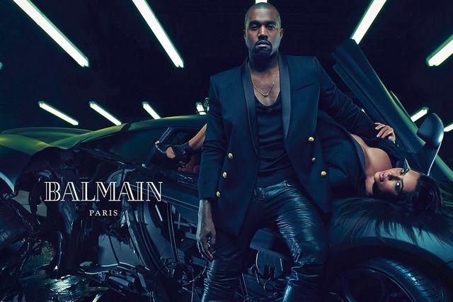 Kim Kardashian pokazała kolejne zdjęcie z kampanii Balmain!
