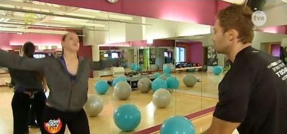 Ania Bałon odchudza się pod okiem trenera