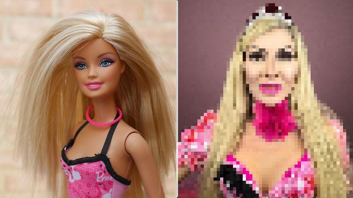 Kobieta upodabnia się do lalki. Teraz marzy o idealnym nosie Barbie