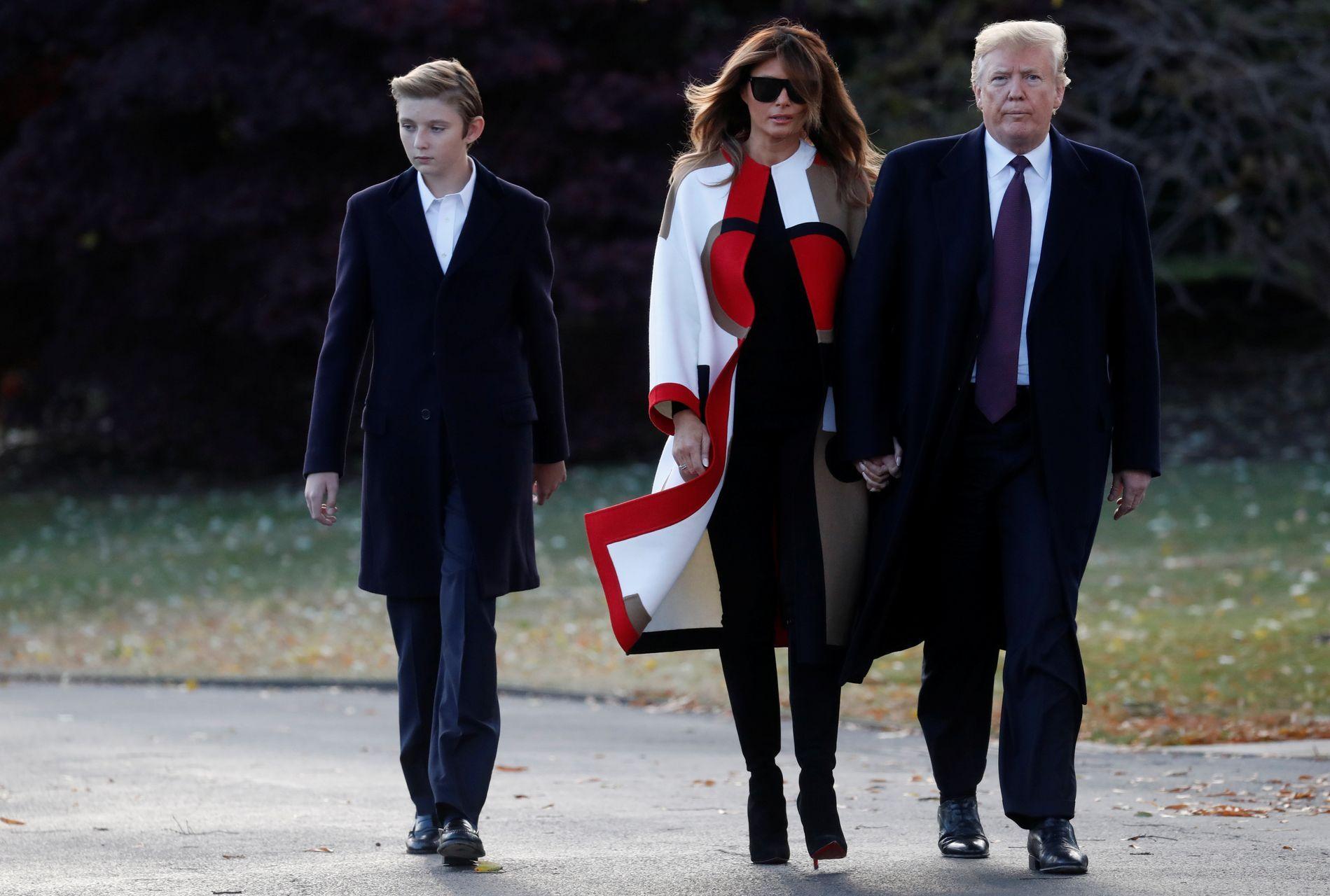 Nie uwierzycie jak teraz wygląda Barron Trump. Bardzo wydoroślał