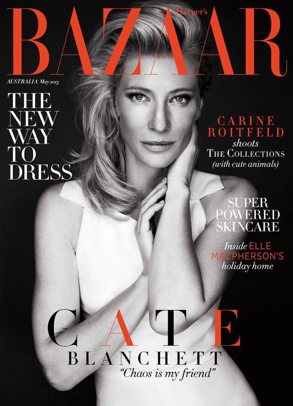Cate Blanchett w Harper's Bazaar (FOTO)
