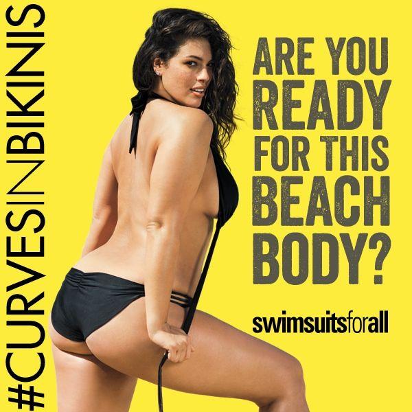 Świetna odpowiedź SwimsuitsforAll na idealne Beach Body
