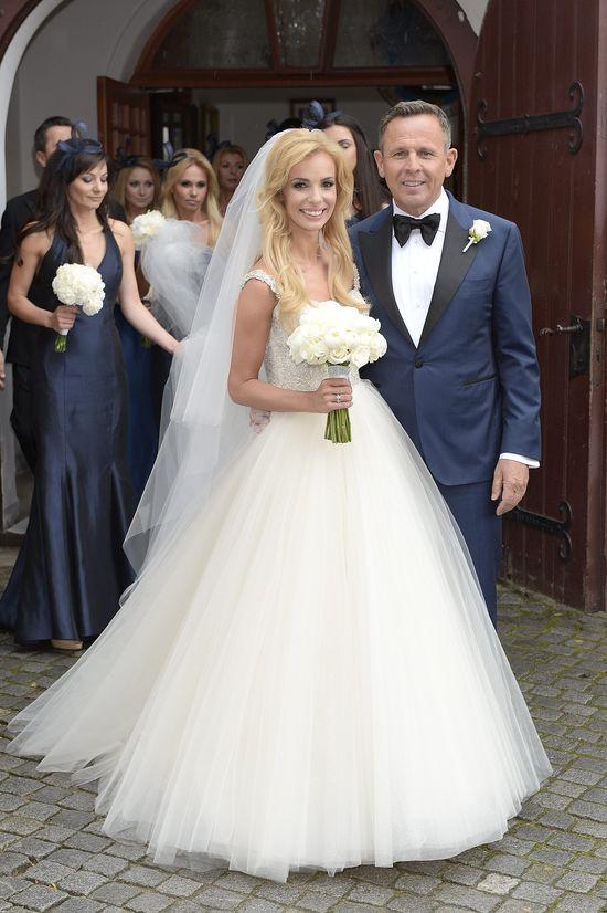 Zdjęcia ze ślubu Izabeli Janachowskiej i Krzysztofa Jabłońskiego