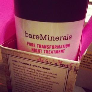 Bare Minerals Pure Transformation Night Treatment - recenzja