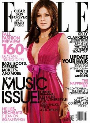Okładki Kelly Clarkson z początków jej kariery