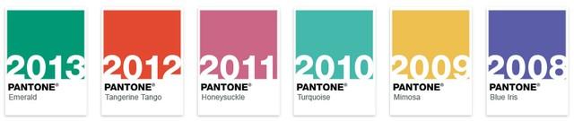 Kolory Pantone na wiosnę 2014