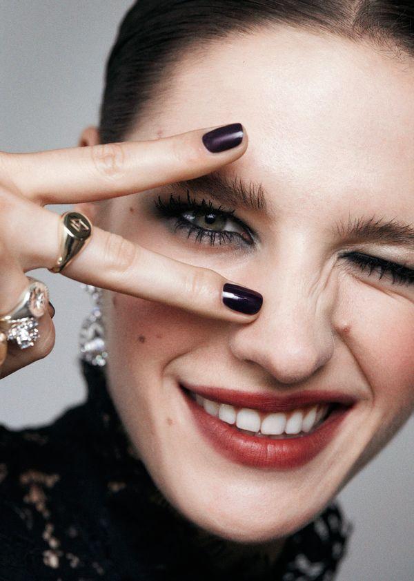 Co powiecie na makijaż w stylu gothic glamour? Zobaczcie i zainspirujcie się!