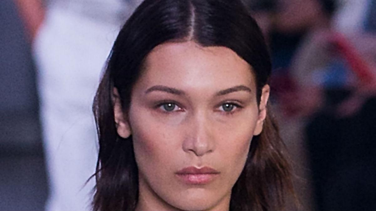 Bella Hadid w butach polskiej marki! Najbardziej dziewczęca stylizacja modelki?!