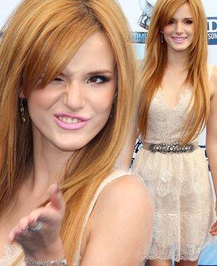 Bella Thorne w koronkowej sukience BCBG Max Azria (FOTO)