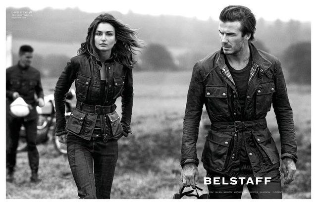 Seksowny David Beckham w kampanii Belstaff