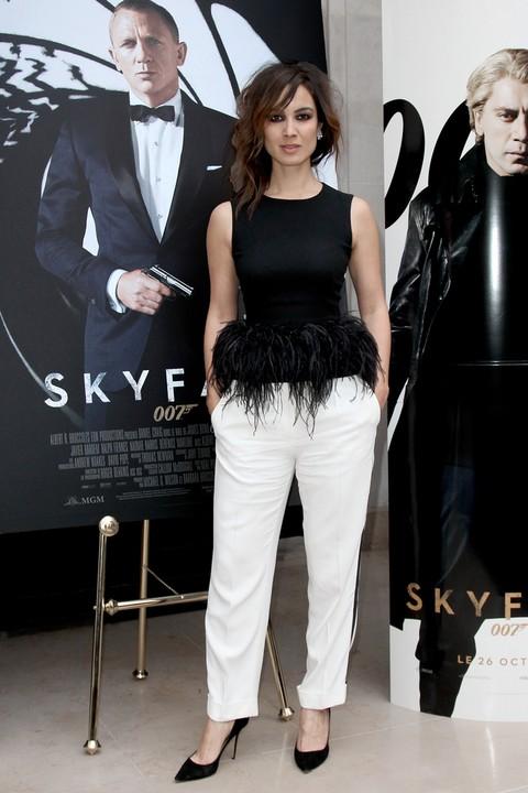 Berenice Marlohe w kreacji Alexandra McQueena (FOTO)