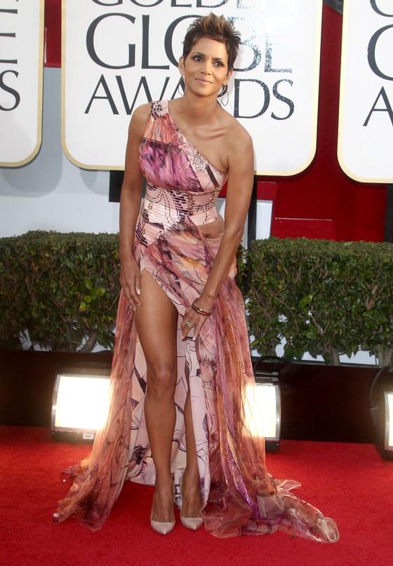 Halle Berry w zwiewnej sukni