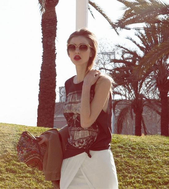 Bershka Volver lookbook marzec 2013