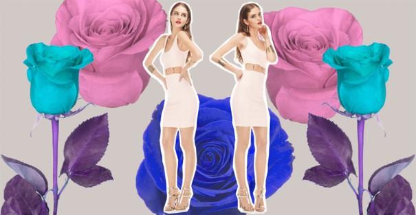 Bershka kolekcja sukienek wiosna 2013
