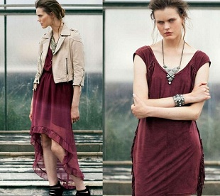 Bershka lookbook lipiec 2012