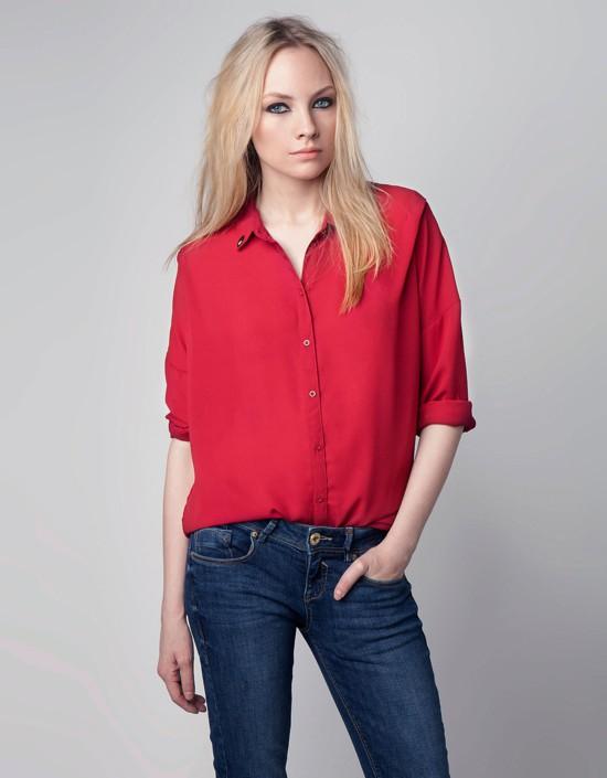 Bershka - przegląd koszul z wyprzedaży