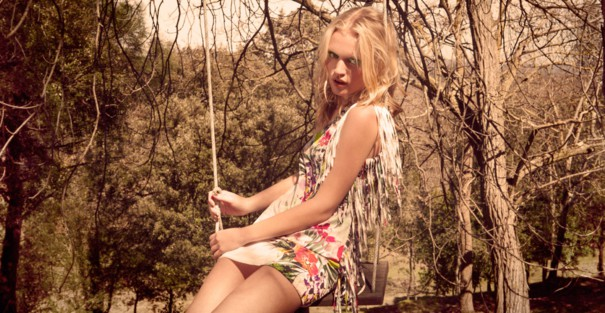 Bershka lookbook kwiecień 2013