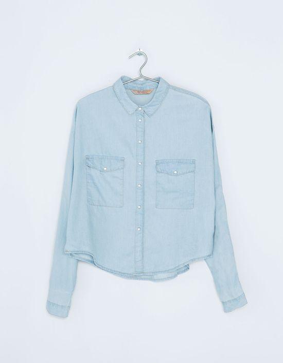 Modne jesienią - jeansowe koszule (FOTO)