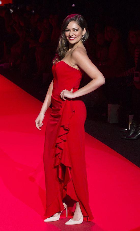 Gwiazdy nie zawiodły na pokazie Go Red For Women (FOTO)