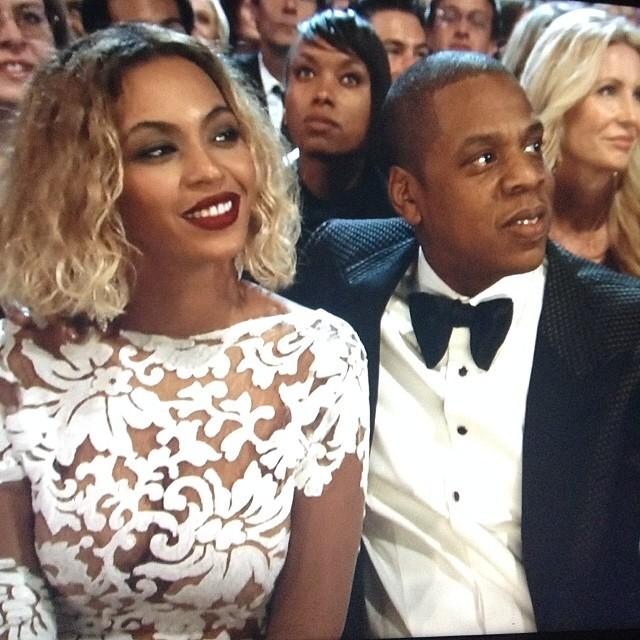 Beyonce w biżuterii za 10 mln dolarów na gali Grammy 2014!