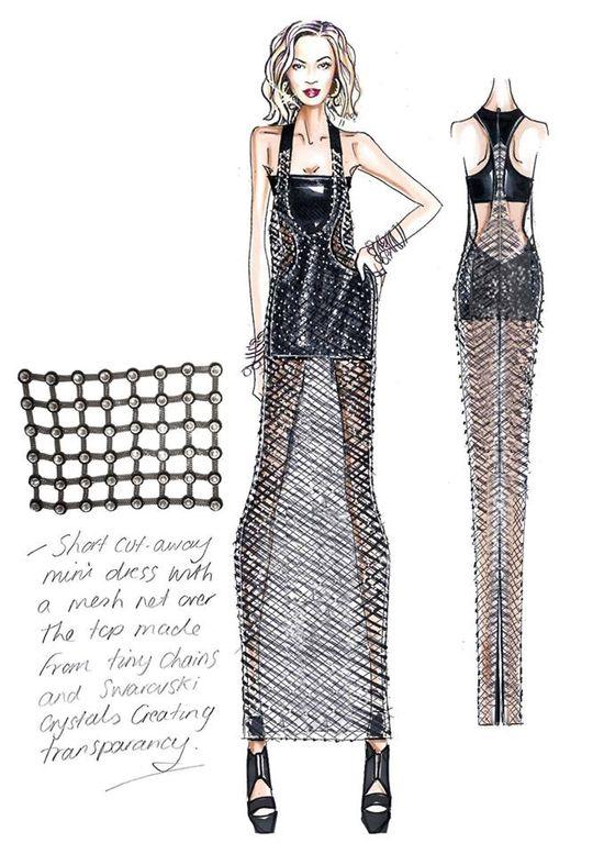 Kostiumy Beyonce zaprojektowane przez Versace (FOTO)