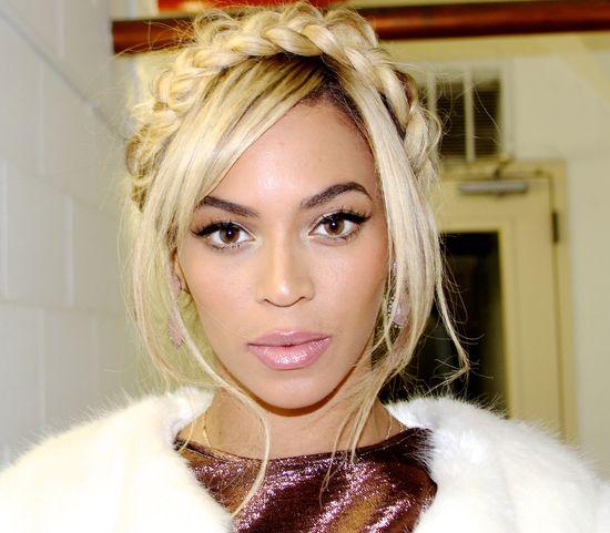 Beyonce w połysku na imprezie w Nowym Jorku (FOTO)