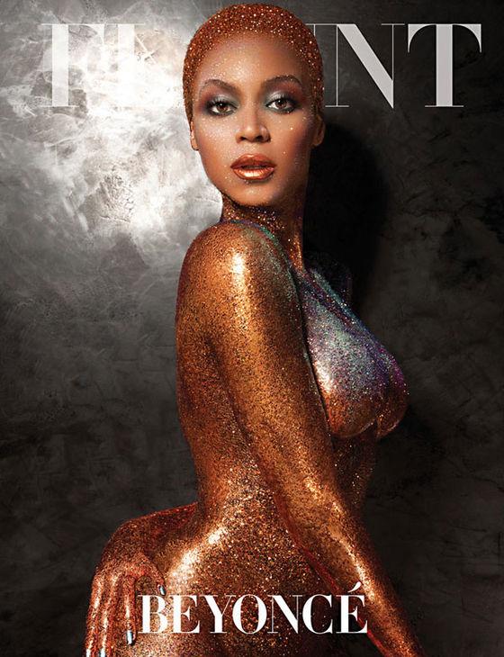 Odmieniona Beyoncé  na okładce magazynu Flunt