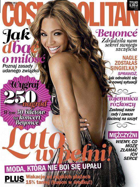 Beyonce gwiazdą najnowszegoo Cosmo (FOTO)