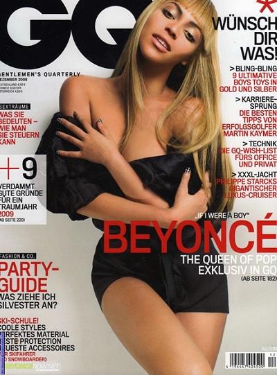 Beyoncé na okładce GQ najseksowniejszą kobietą XXI wieku