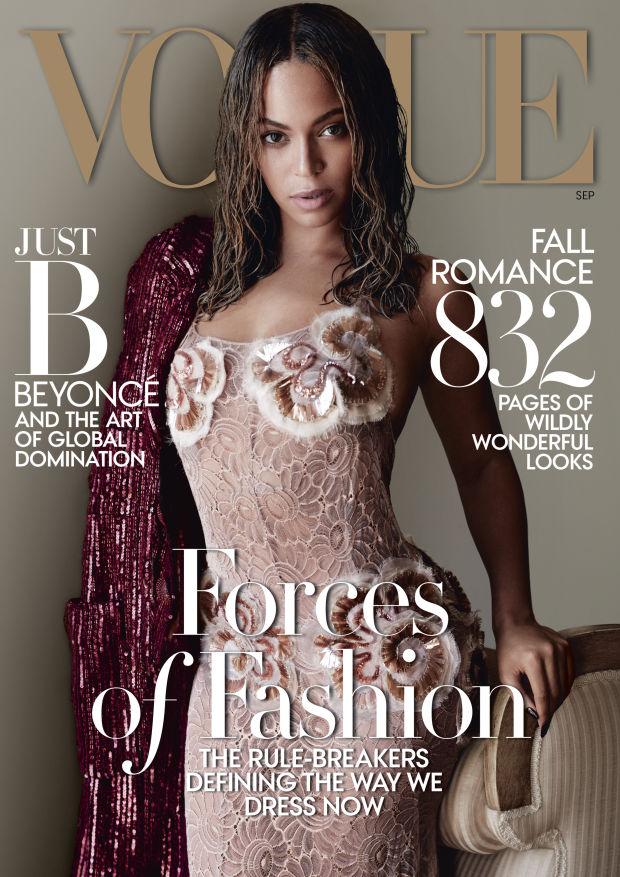 Beyonce nie miała nic do powiedznia dla Vogue'a...